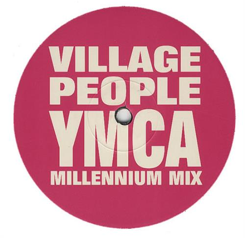 "Village People YMCA Millennium Mix 12"" vinyl single (12 inch record / Maxi-single) UK VIL12YM149547"
