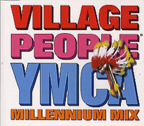 "Village People YMCA CD single (CD5 / 5"") UK VILC5YM161120"
