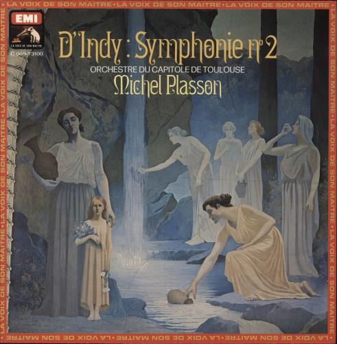 Vincent d'Indy D'Indy: Symphonie No 2 vinyl LP album (LP record) French XJNLPDI749692