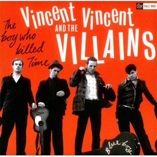 """Vincent Vincent And The Villains Blue Boy 7"""" vinyl single (7 inch record) UK VBA07BL424561"""