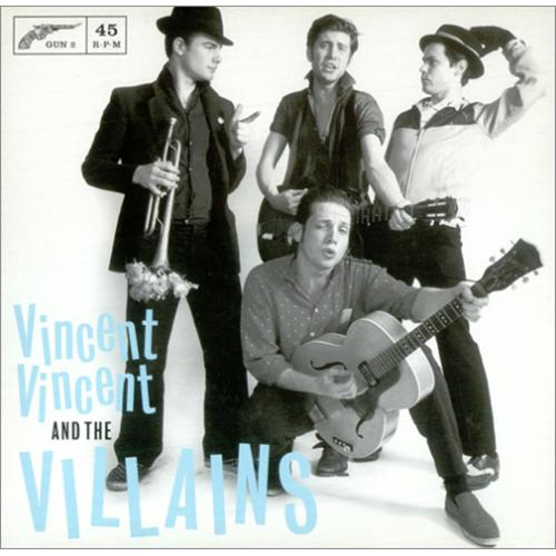 "Vincent Vincent And The Villains On My Own 7"" vinyl single (7 inch record) UK VBA07ON424560"