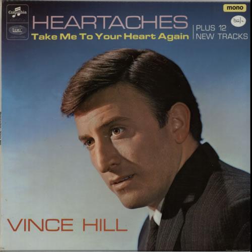 Vince Hill Heartaches vinyl LP album (LP record) UK VH2LPHE616457
