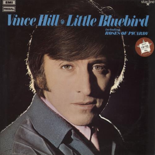 Vince Hill Little Bluebird vinyl LP album (LP record) UK VH2LPLI491871