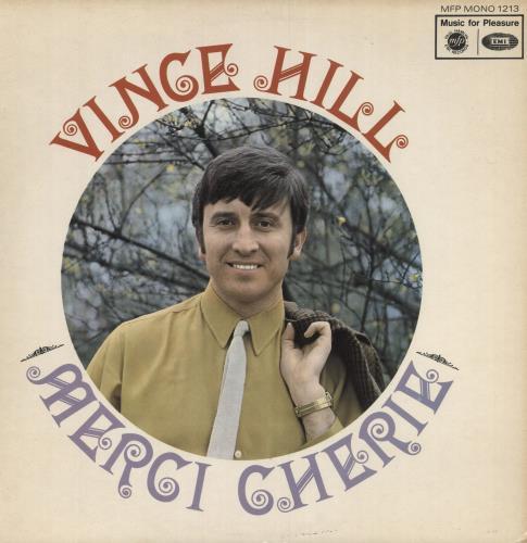 Vince Hill Merci Cherie vinyl LP album (LP record) UK VH2LPME748666