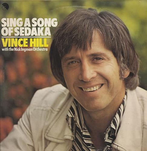 Vince Hill Sing A Song Of Sedaka vinyl LP album (LP record) UK VH2LPSI385509