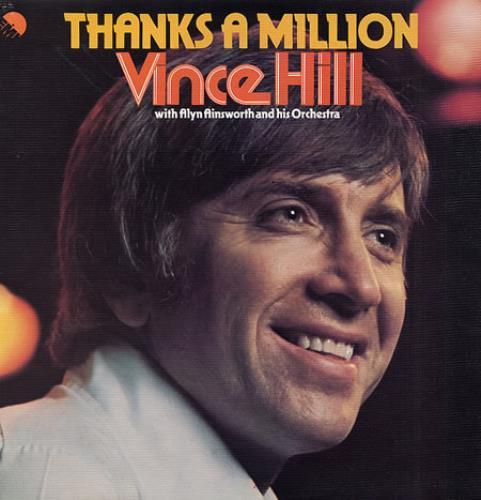 Vince Hill Thanks A Million vinyl LP album (LP record) UK VH2LPTH329520