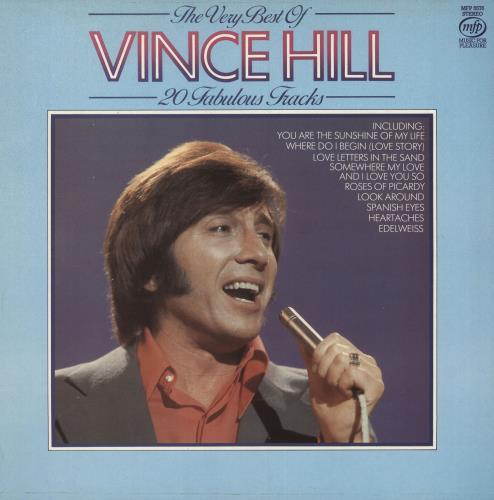 Vince Hill The Very Best Of Vince Hill vinyl LP album (LP record) UK VH2LPTH746867