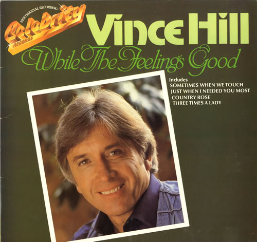 Vince Hill While The Feelings Good vinyl LP album (LP record) UK VH2LPWH563698