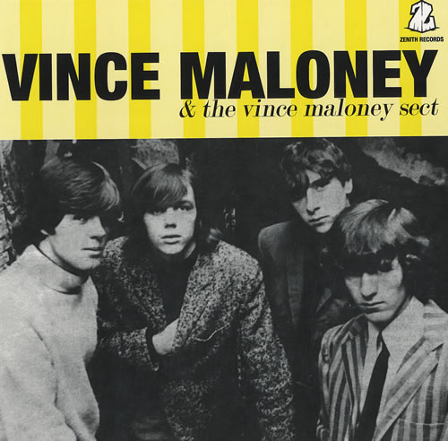 "Vince Maloney Vince Maloney & The Vince Maloney Sect 7"" vinyl single (7 inch record) Australian VMI07VI454881"