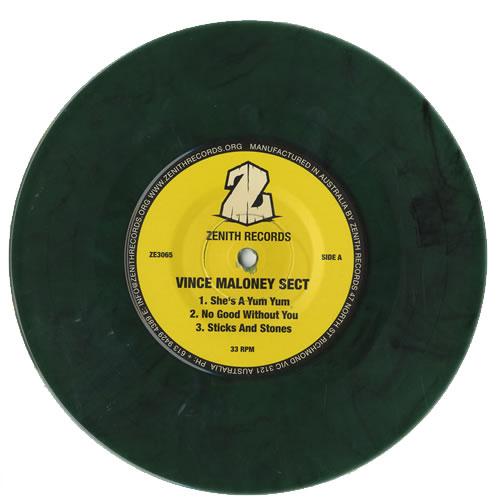 "Vince Maloney Vince Maloney & The Vince Maloney Sect 7"" vinyl single (7 inch record) Australian VMI07VI457896"