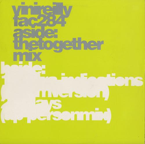 "Vini Reilly The Together Mix + Print 12"" vinyl single (12 inch record / Maxi-single) UK VRL12TH130432"
