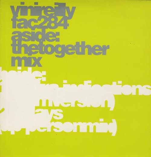 """Vini Reilly The Together Mix 12"""" vinyl single (12 inch record / Maxi-single) UK VRL12TH184203"""