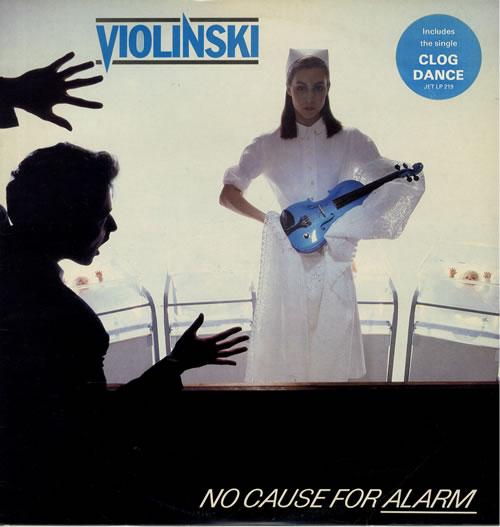Violinski No Cause For Alarm vinyl LP album (LP record) UK VI0LPNO565094
