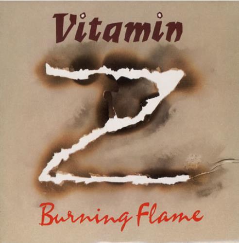 "Vitamin Z Burning Flame 7"" vinyl single (7 inch record) UK VTZ07BU503080"