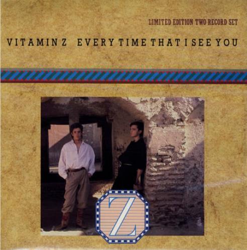 "Vitamin Z Every Time That I See You - Doublepack 7"" vinyl single (7 inch record) UK VTZ07EV502912"