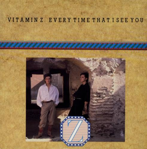 "Vitamin Z Every Time That I See You 7"" vinyl single (7 inch record) UK VTZ07EV502910"