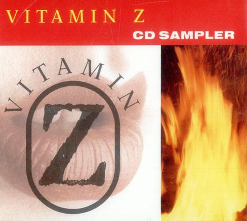"""Vitamin Z Sharp Stone Rain - Album Sampler CD single (CD5 / 5"""") UK VTZC5SH498810"""