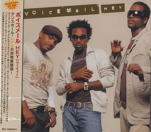Voicemail Hey CD album (CDLP) Japanese VBBCDHE493239