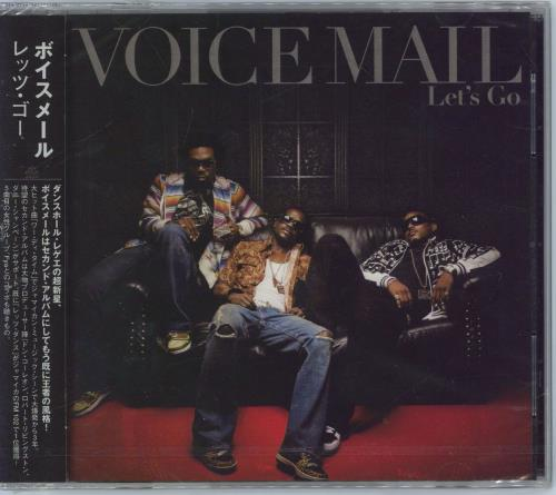 Voicemail Let's Go CD album (CDLP) Japanese VBBCDLE483608