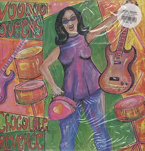 "Voodoo Queens Chocolate Revenge LP + 7"" vinyl LP album (LP record) UK VA4LPCH307828"