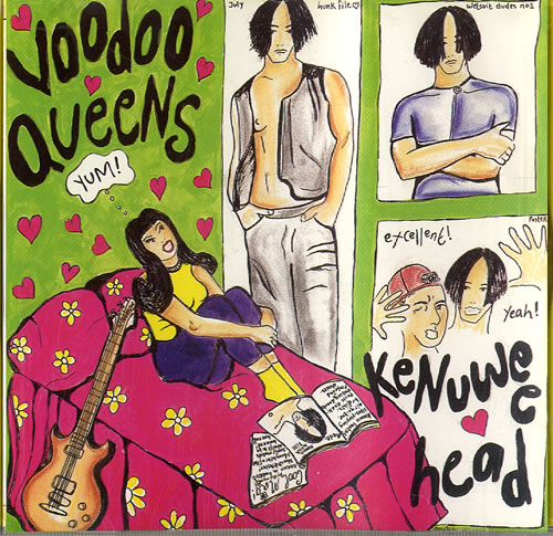 "Voodoo Queens Kenuwee Head CD single (CD5 / 5"") UK VA4C5KE506327"
