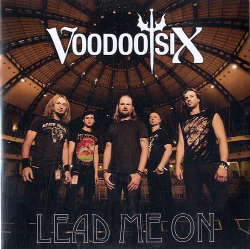 Voodoo Six Lead Me On CD-R acetate UK VO6CRLE631269