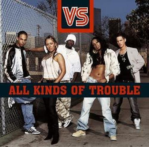 Vs All Kinds Of Trouble CD album (CDLP) UK V.SCDAL304808