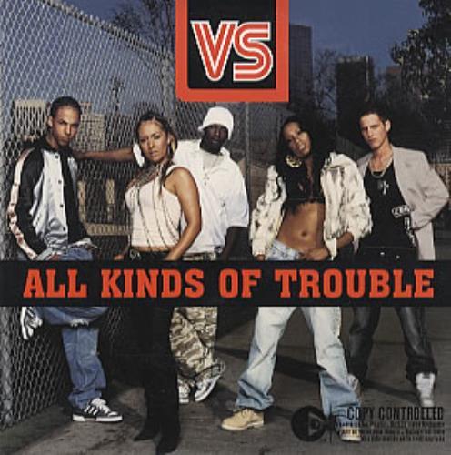 Vs All Kinds Of Trouble CD album (CDLP) European V.SCDAL317808