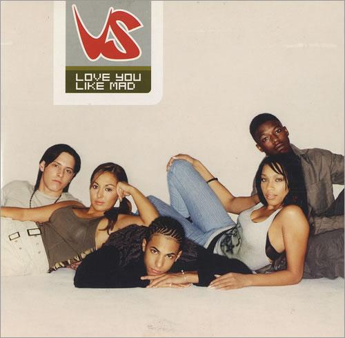 """Vs Love You Like Mad CD single (CD5 / 5"""") UK V.SC5LO472268"""