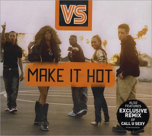 """Vs Make It Hot CD single (CD5 / 5"""") UK V.SC5MA481043"""