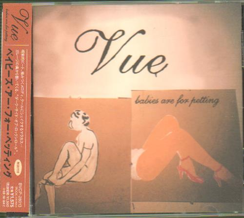 "Vue Babies Are For Petting CD single (CD5 / 5"") Japanese VB0C5BA668349"