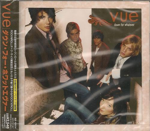 Vue Down For Whatever CD album (CDLP) Japanese VB0CDDO487652