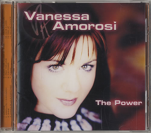 Vanessa Amorosi The Power CD album (CDLP) Japanese V.ACDTH184826