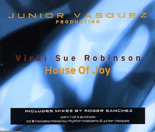 "Vicki Sue Robinson House Of Joy CD single (CD5 / 5"") European VSRC5HO294425"