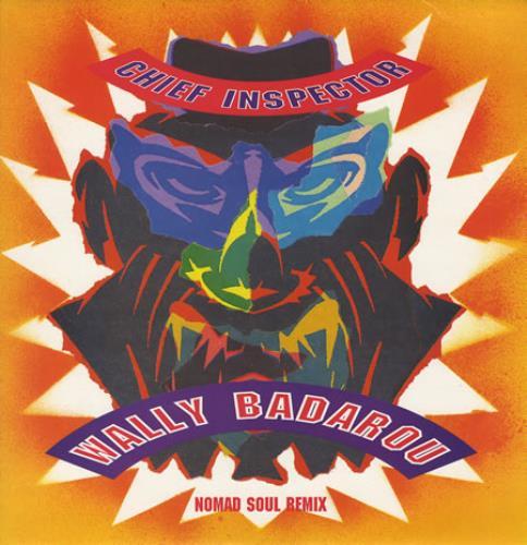 "Wally Badarou Chief Inspector - P/S 12"" vinyl single (12 inch record / Maxi-single) UK WAB12CH185380"