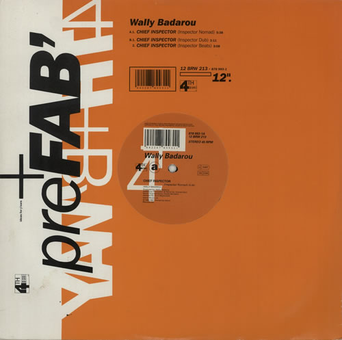 "Wally Badarou Chief Inspector 12"" vinyl single (12 inch record / Maxi-single) UK WAB12CH629754"