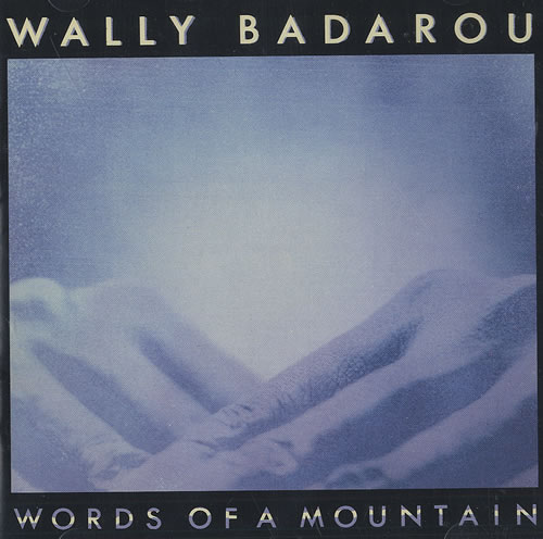 Wally Badarou Words Of A Mountain CD album (CDLP) US WABCDWO439888