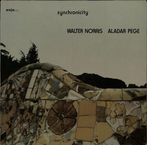 Walter Norris & Aladar Pege Synchronicity vinyl LP album (LP record) German WA6LPSY586257