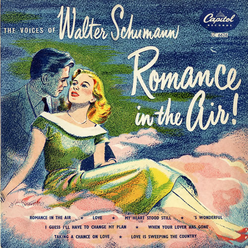 "Walter Schumann Romance In The Air ! 10"" vinyl single (10"" record) UK WF810RO551447"