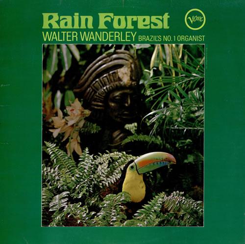 Walter Wanderley Rain Forest vinyl LP album (LP record) UK WWQLPRA461842