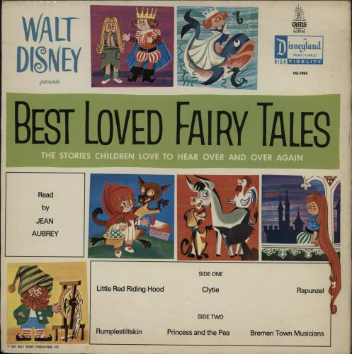 Walt Disney Best Loved Fairy Tales vinyl LP album (LP record) UK W-DLPBE764213