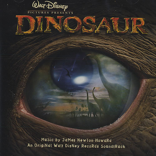 Walt Disney Dinosaur Uk Cd Album Cdlp 435068