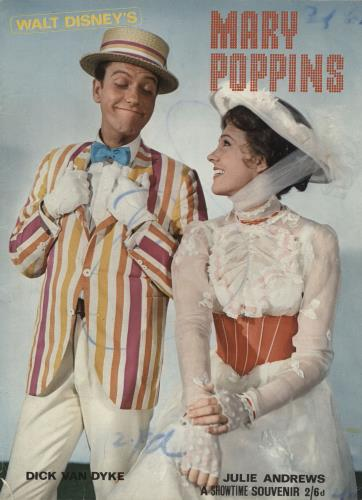 Walt Disney Mary Poppins - A Showtime Souvenir magazine UK W-DMAMA760217