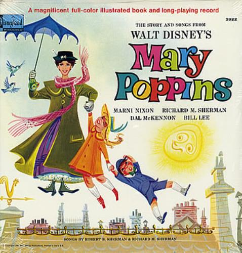 Walt Disney Mary Poppins - Sealed vinyl LP album (LP record) US W-DLPMA284262