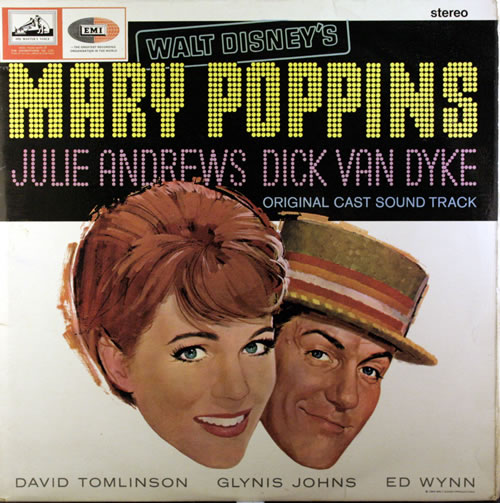 Walt Disney Mary Poppins vinyl LP album (LP record) UK W-DLPMA551388