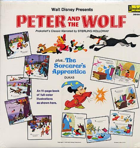 Walt Disney Peter And The Wolf Us Vinyl Lp Album Lp Record 287169