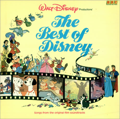 Walt Disney The Best Of Disney Uk Vinyl Lp Album Lp Record 496445