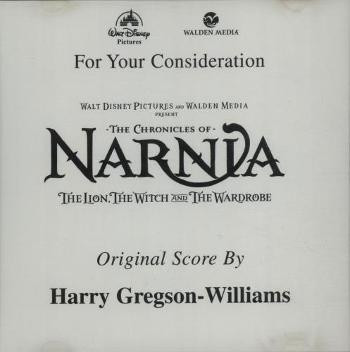Walt Disney The Chronicles Of Narnia: The Lion The Witch & The Wardrobe CD album (CDLP) US W-DCDTH659474