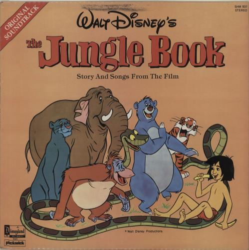 Walt Disney The Jungle Book Uk Vinyl Lp Album Lp Record 371100