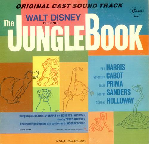 Walt Disney The Jungle Book Us Vinyl Lp Album Lp Record 446919